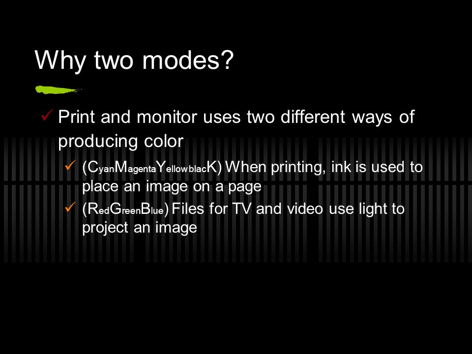 Why Two Modes Print And Monitor Uses Different Ways Of Producing Color