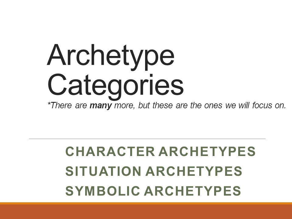 Archetypes Ppt Video Online Download