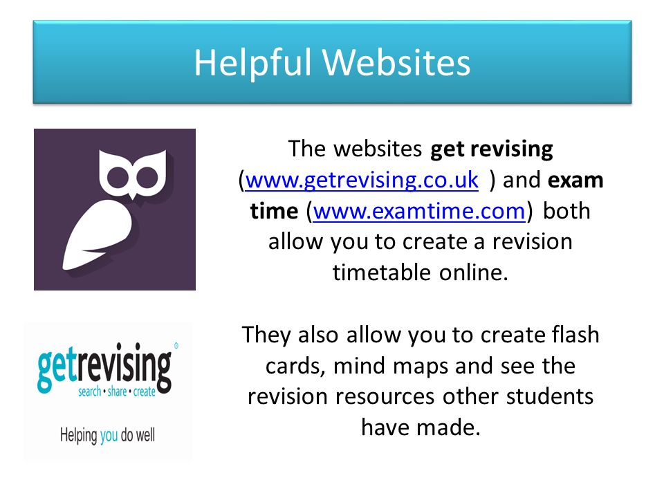revision timetables learning objective to plan a revision timetable