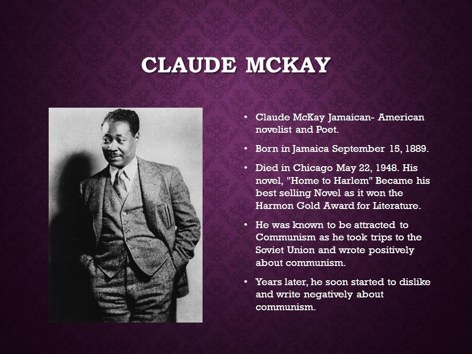 claude mckay died