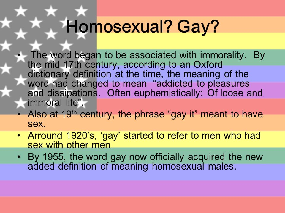 from Cyrus origin of word gay for homosexual