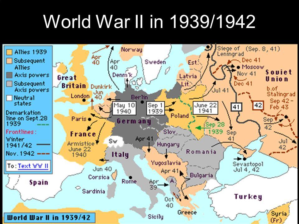 Beginning of World War II - ppt download