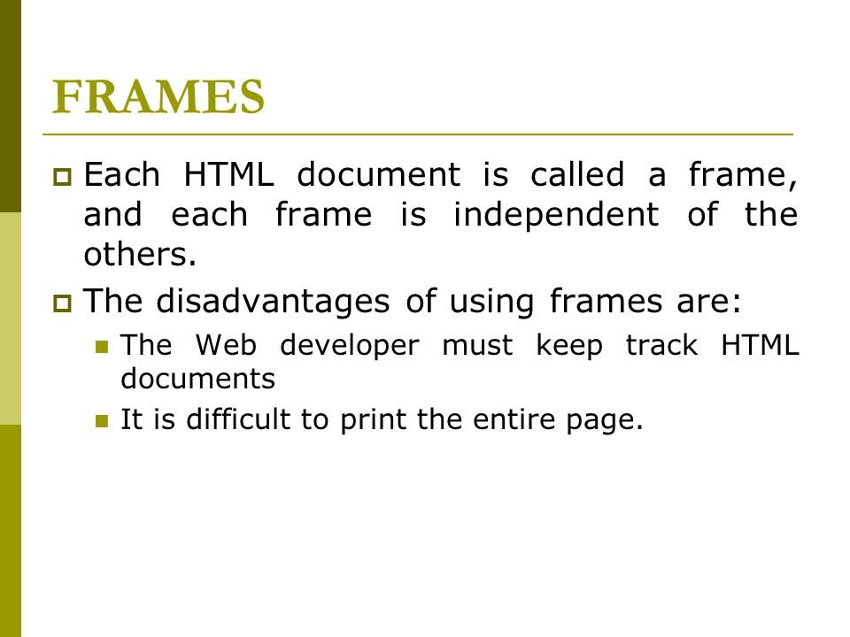 Fein Frames In Html Ideen - Bilderrahmen Ideen - szurop.info