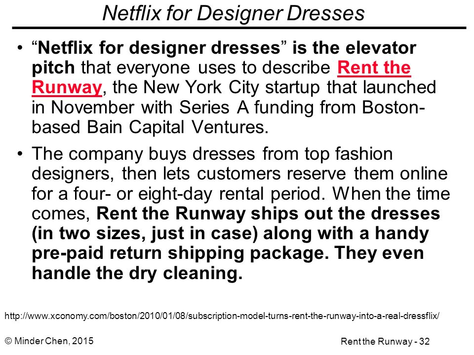Case Study: Rent the Runway - ppt download