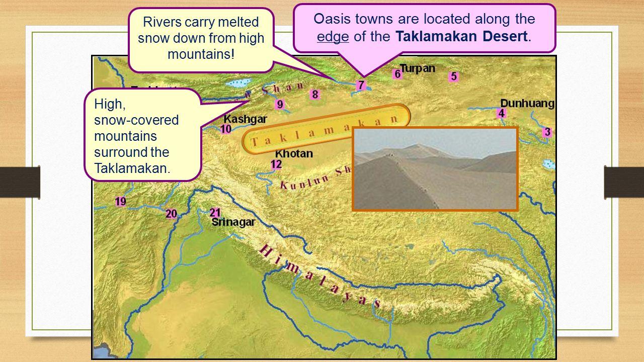 Taklamakan Desert Map Location Wiring Library