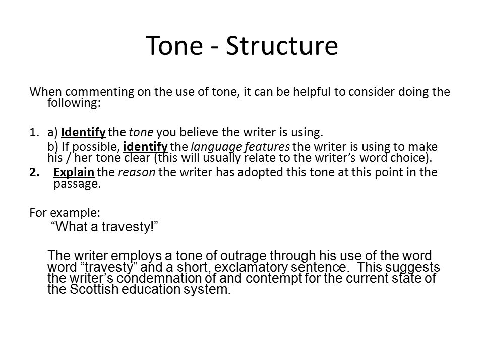 Close Reading Tone Ppt Download