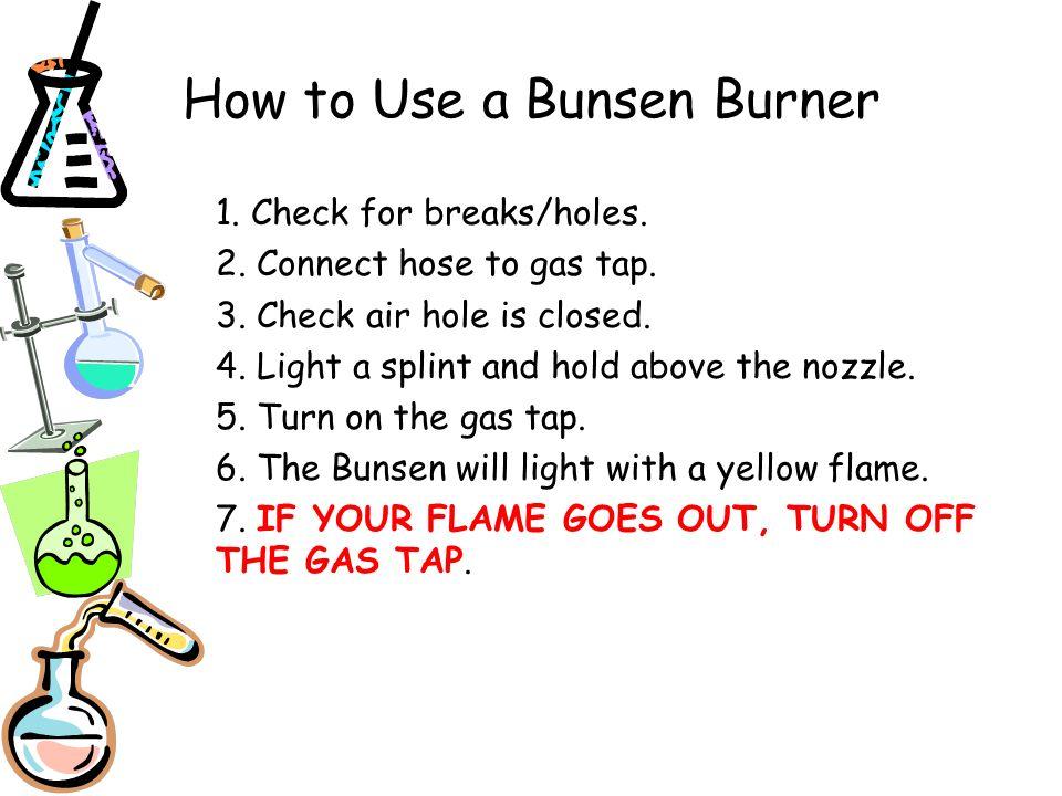 lesson 7 bunsen burners ppt download