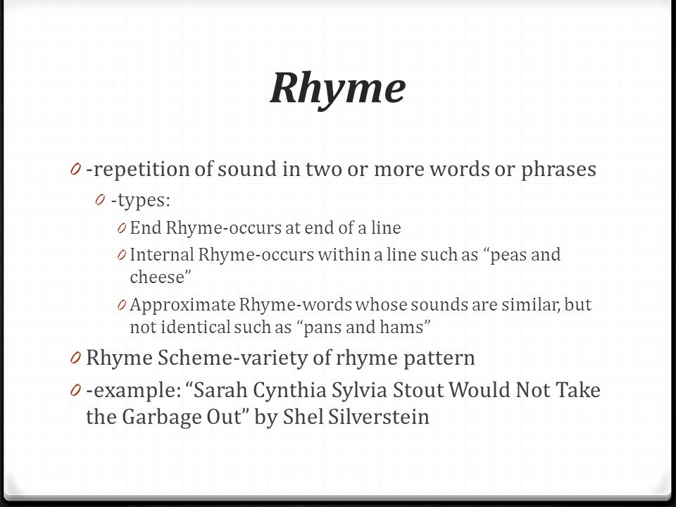 words that rhyme with love