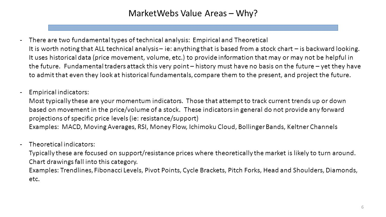 The Value of Indicators and How to Trade With Them - ppt