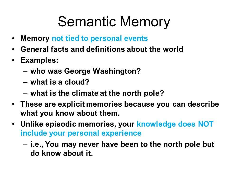 Thinking Memory Intelligence Ppt Download