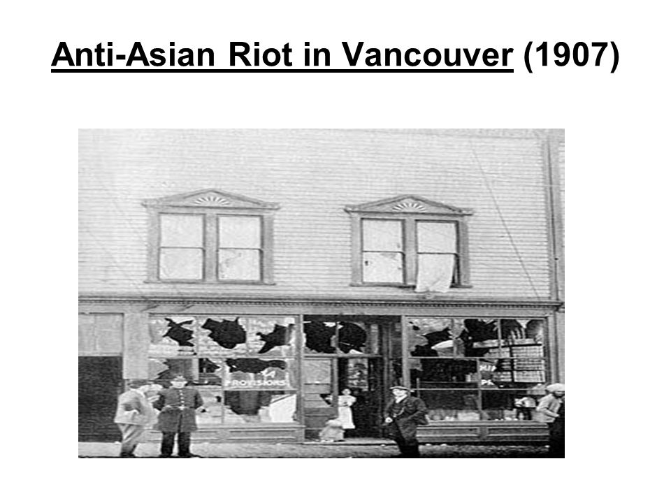 anti asian riots in vancouver