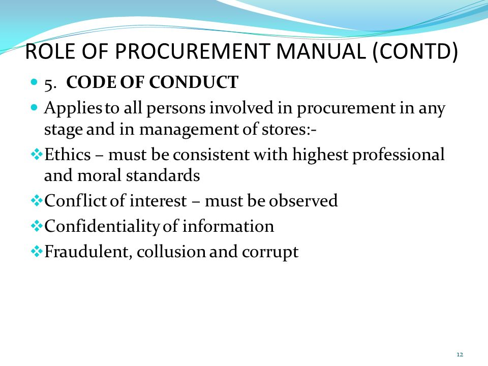 procurement manual Page 1 of 18 คู่มือการดาเนินงานจัดหาอย่างยั่งยืน irpc sustainable procurement management manual.