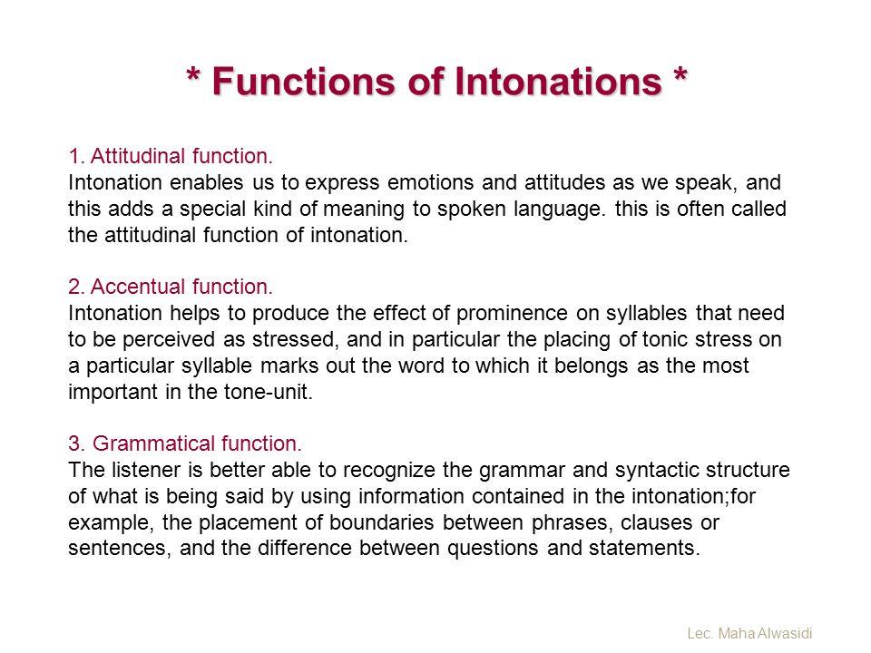 Lecture 7 Intonation 2 Lec Maha Alwasidi Ppt Video Online Download