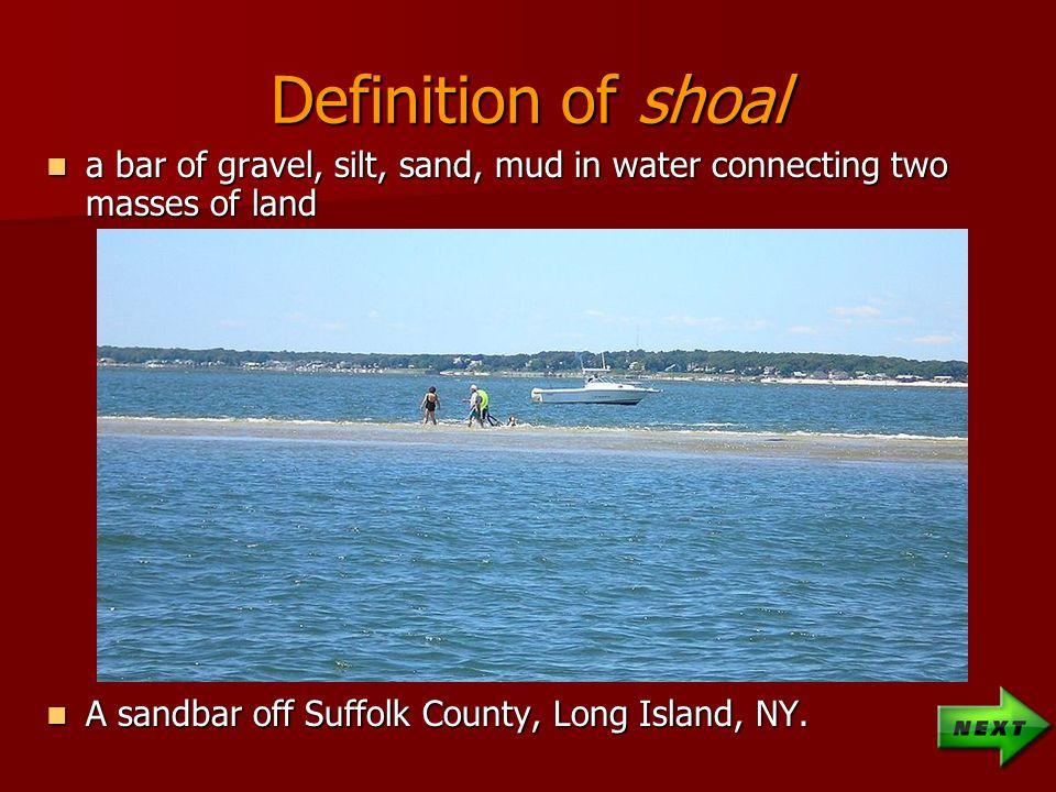 Shoal definition