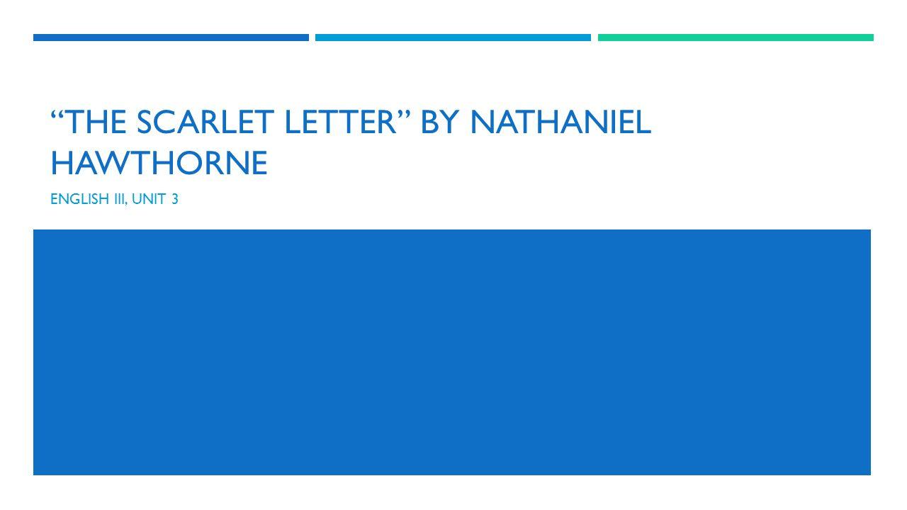 Scarlet Letter Ch  Theme