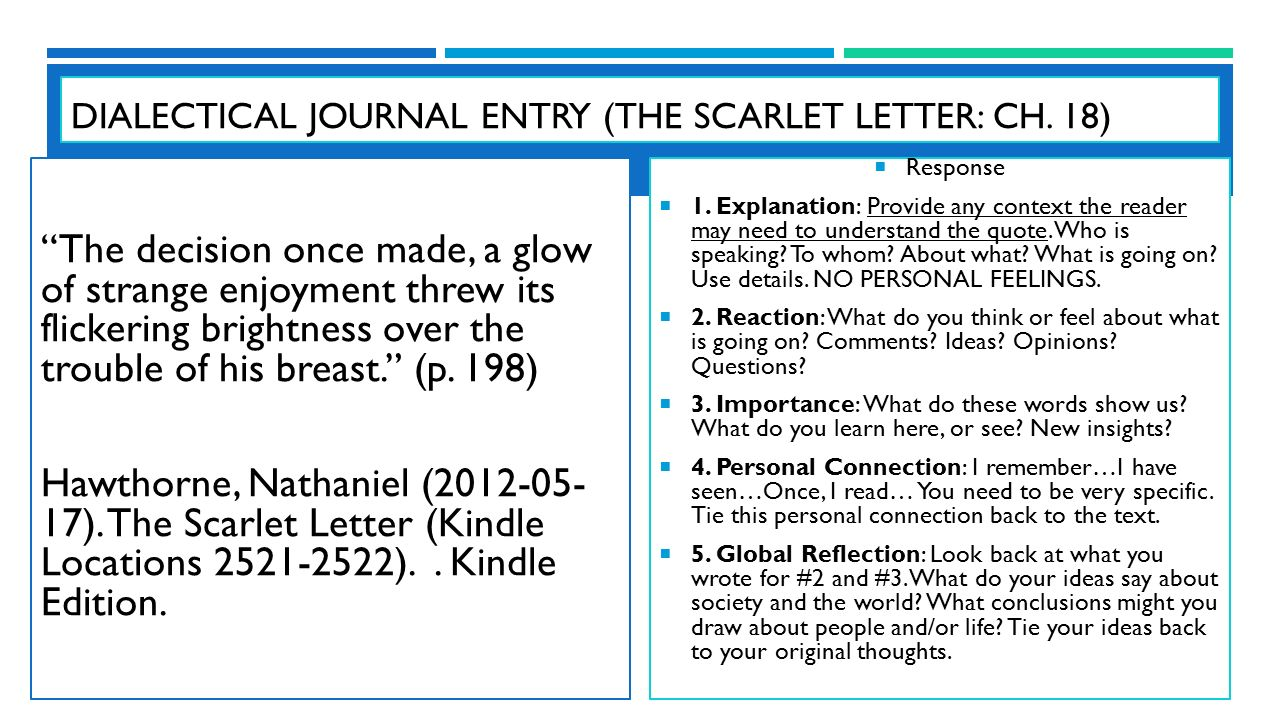 """The scarlet letter"""" by Nathaniel hawthorne ppt"""