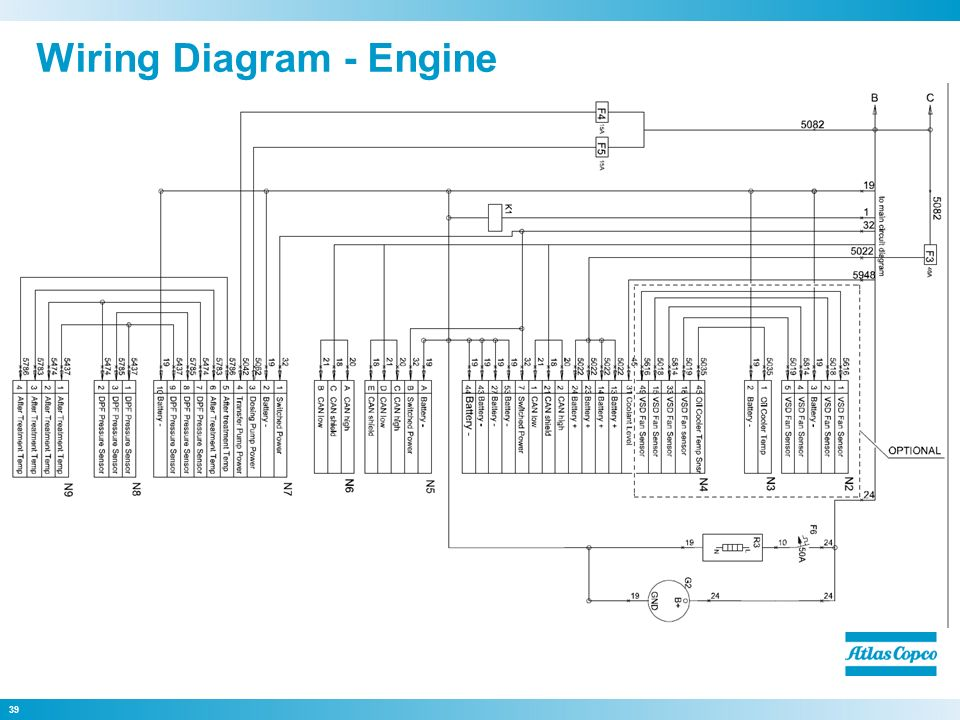 Atlas Copco Compressor Wiring Diagram