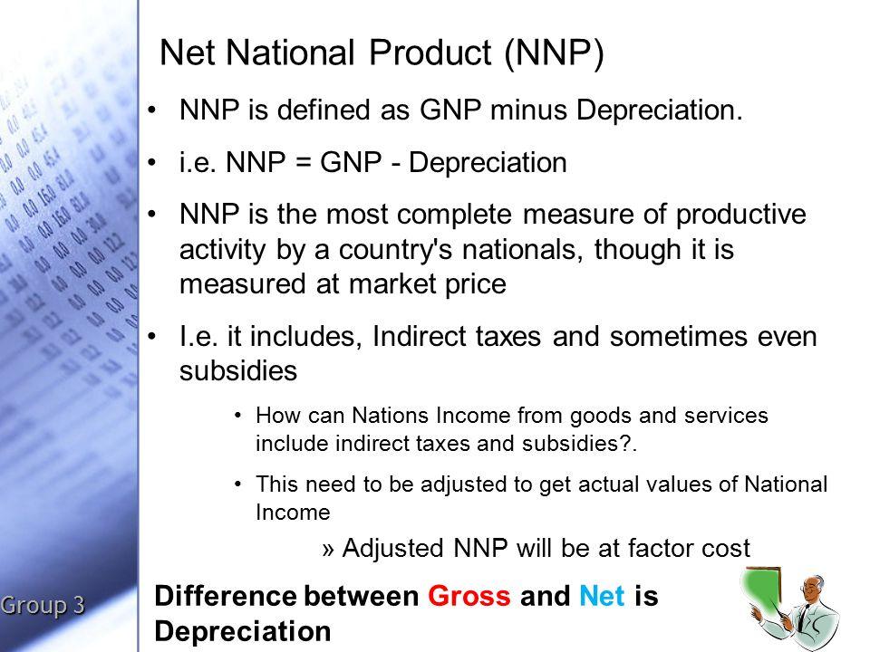 gnp and nnp