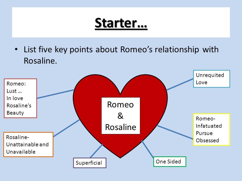 romeo and rosaline relationship