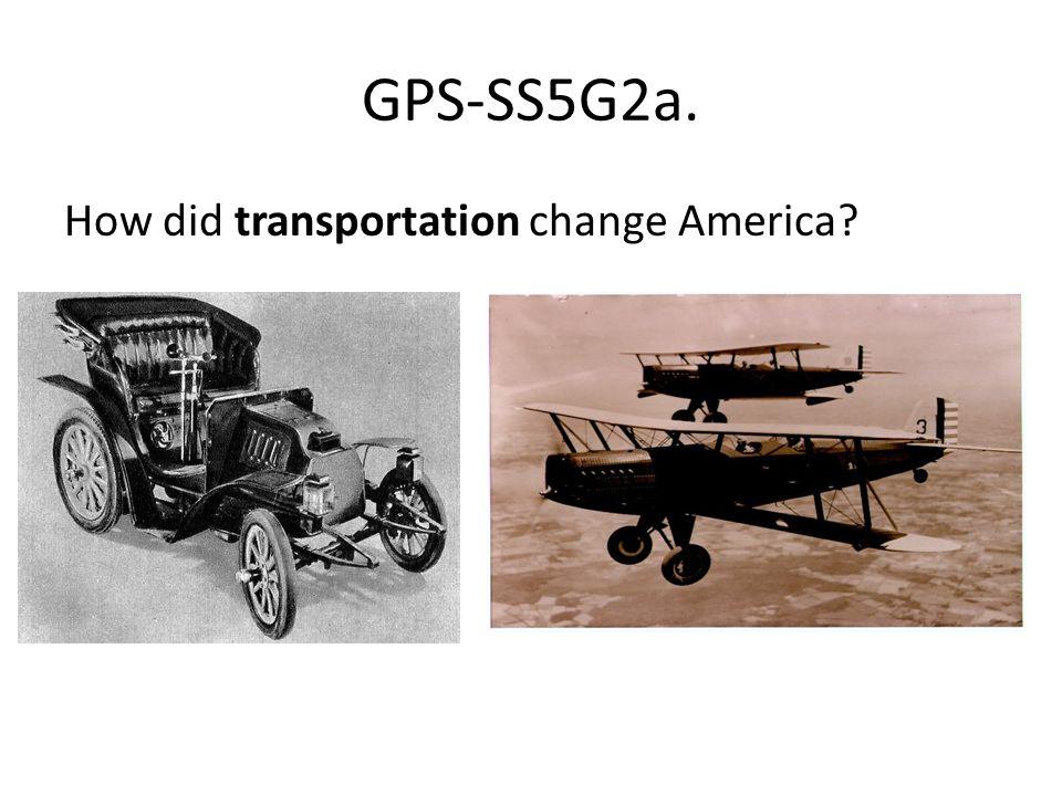 how did transportation change