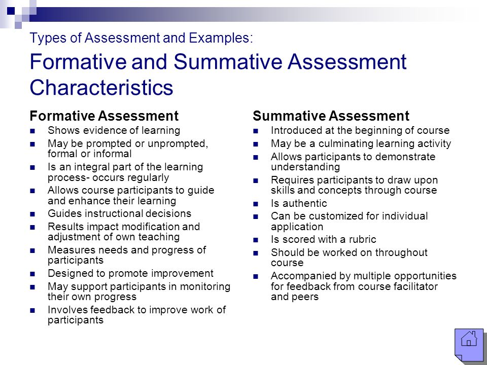 Summative Essment Template | Identifying Assessments Ppt Video Online Download