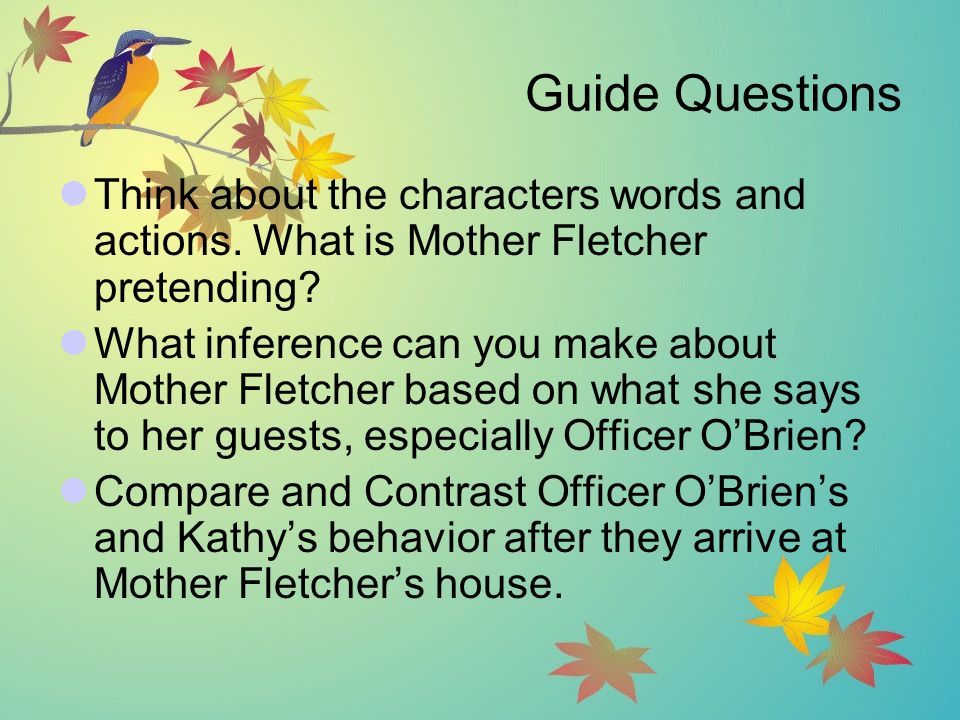 Mother Fletcher's Gift - ppt video online download