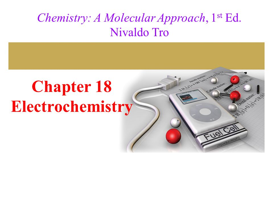 Chapter 18 Electrochemistry Ppt Download