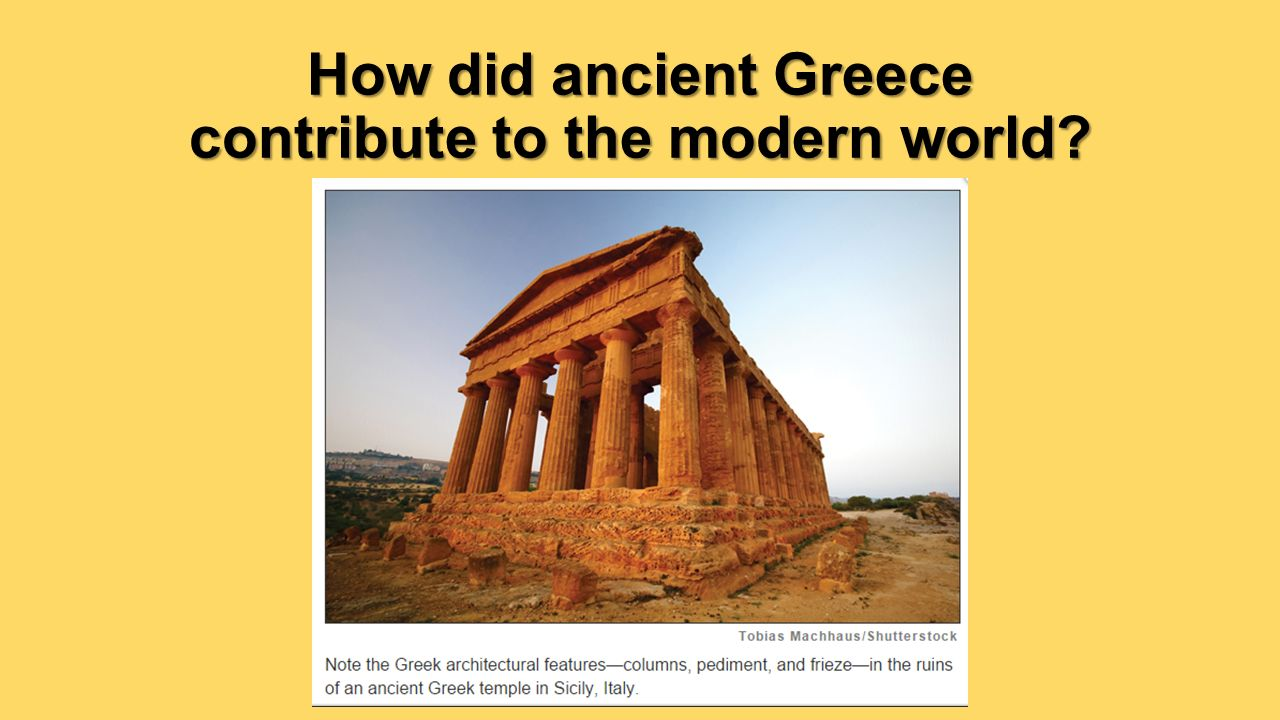 The Legacy of Ancient Greece