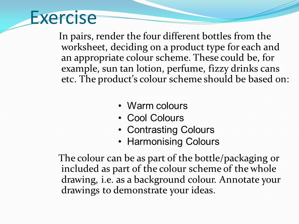 33 Exercise: Warm And Cool Colors Worksheet At Alzheimers-prions.com