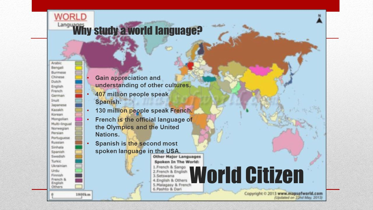 World Languages Spanish & French. - ppt download