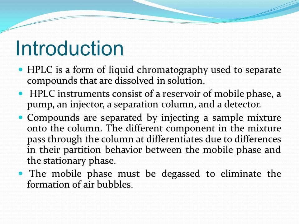 High Performance Liquid Chromatography - ppt download