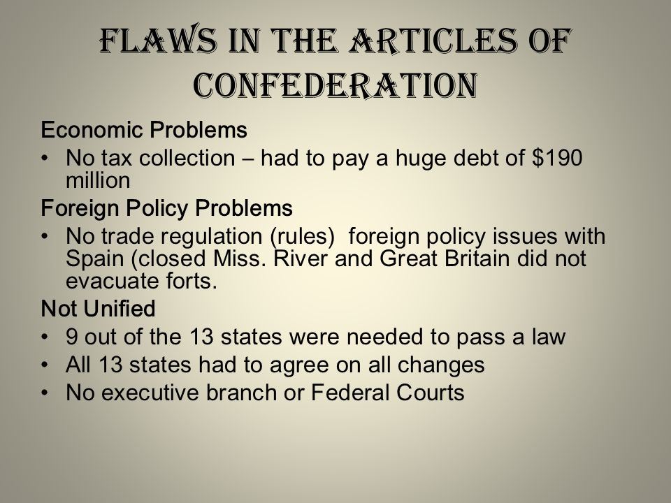2 what role did compromise play at theconstitutional convention 3 flaws in the articles of confederation publicscrutiny Choice Image