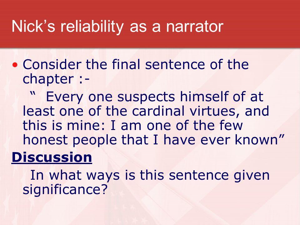 nicks cardinal virtue
