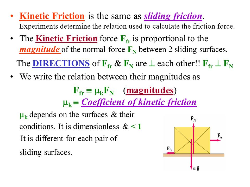 experiment to determine coefficient of friction