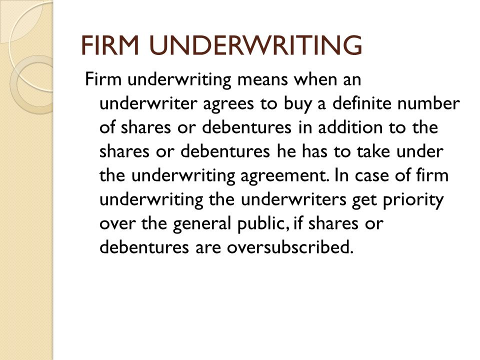 Company Accountsunderwriting Of Shares And Debntures Ppt Video
