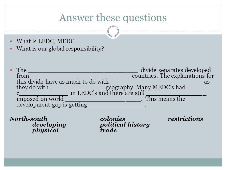 medc countries list