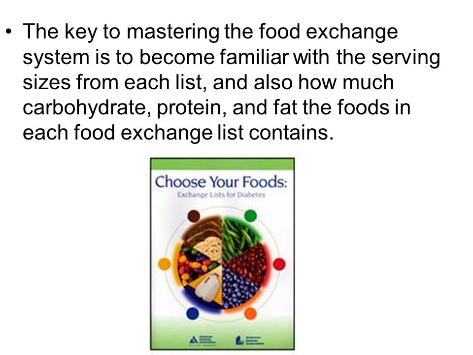 The Food Exchange System Ppt Download