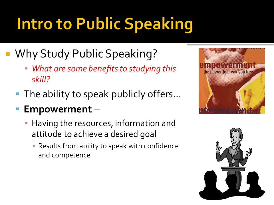 public speaking themes