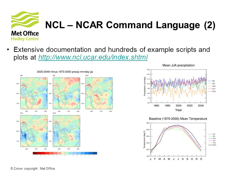 An introduction to CDO, NCL and PRECIS utilities - ppt video