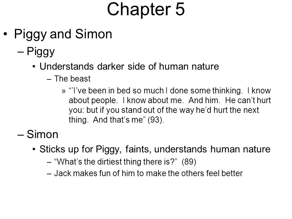 The Lord Of The Flies Chapters Ppt Download