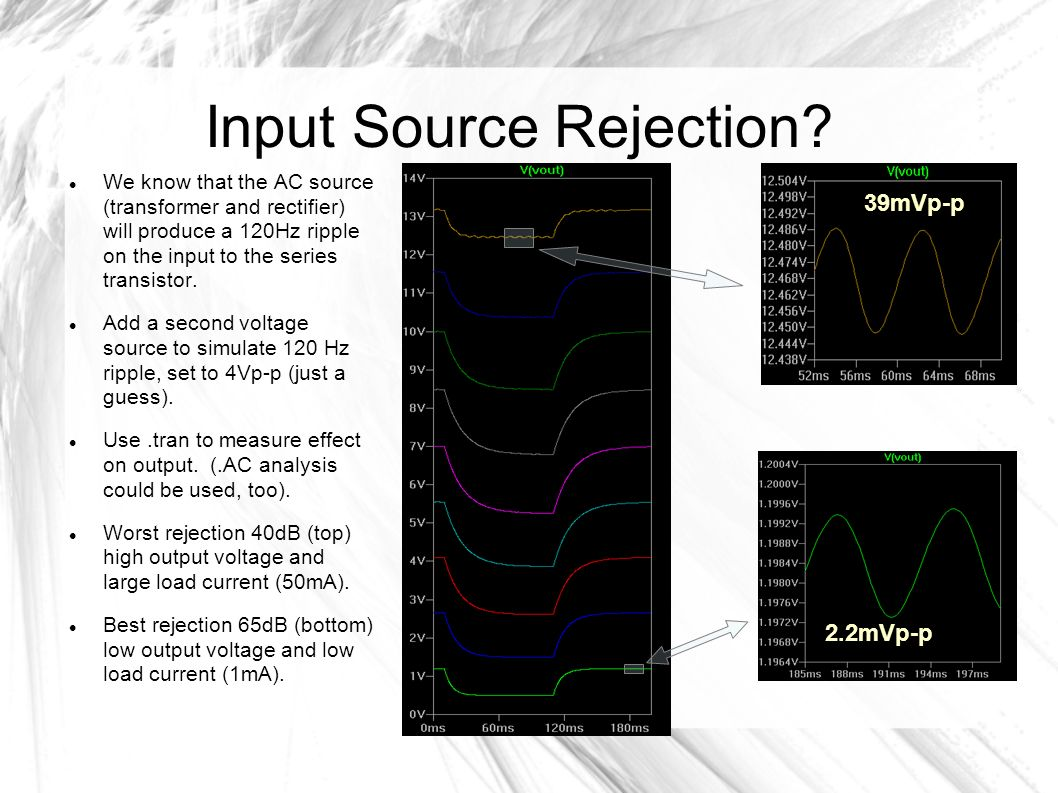 Transformer Software For Analysis And Rectifier Circuit Spice Simulation Program With Integrated Emphasis 12 Input Source Rejection
