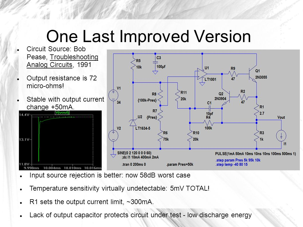 Spice Simulation Program With Integrated Circuit Emphasis Free Downloadable Tools Capture And Simulate Analog Circuits 16 One Last Improved Version