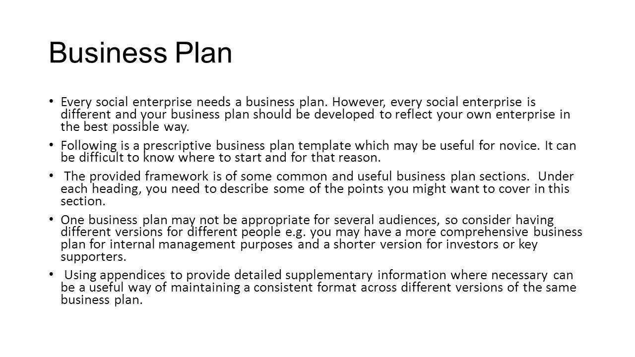Starting a social enterprise ppt video online download business plan friedricerecipe Images