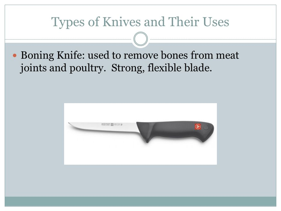 types of kitchen knives and their uses knives foods ii ppt 27980