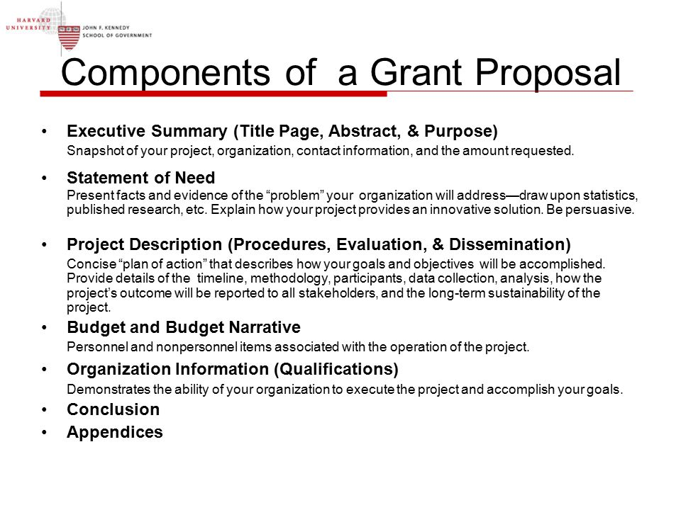 Grant Proposal | Grant Proposal Writing Ppt Video Online Download