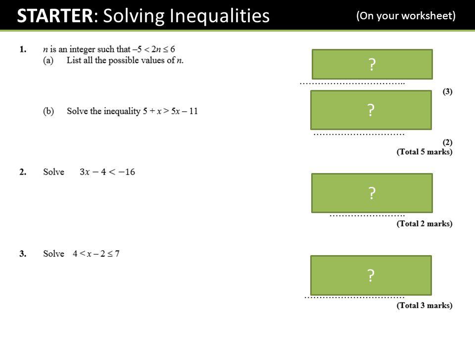 Gcse Inequalities Shading Regions Ppt Download