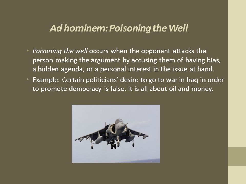 Poisoning the well | the logical fallacy tarot.