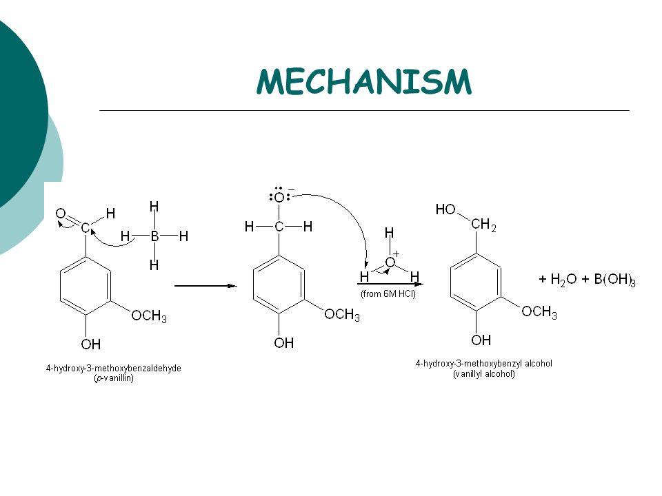 sodium borohydride reduction of vanillin