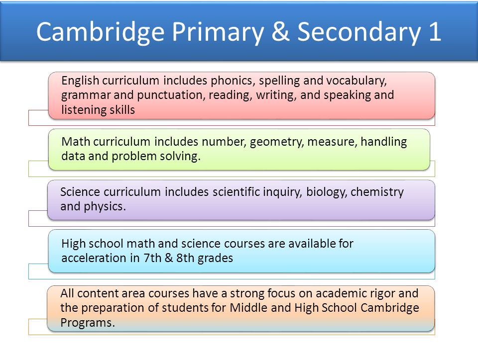 Key Biscayne K-8 Center, Welcome to Cambridge! - ppt video online
