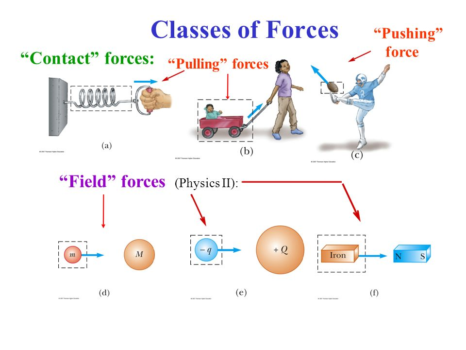 physics force field diagram